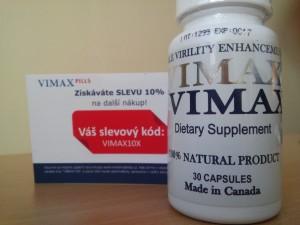 Slevový kupón na další nákup Vimax
