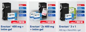 Erectan balíčky - nejvýhodnější cena